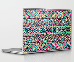 cover, laptop, and tribal image