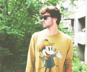 boy, mickey mouse, and guy image