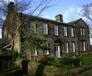 bronte sisters, haworth, and house image