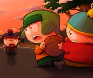 South park, stanley, and kenny mccormick image