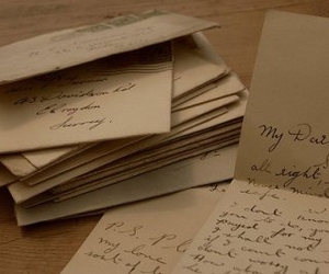 cartas, letters, and writing image
