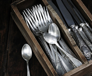 antique and silverware image