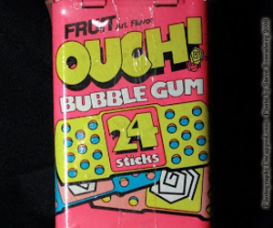 bubble gum and girl image