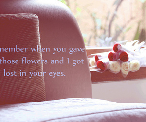 text, love, and flowers image