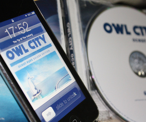 ipod, Owl City, and itouch image