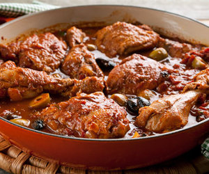 Chicken, olive, and sage image