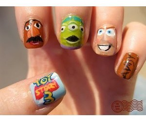 nails, amazing, and toy story image