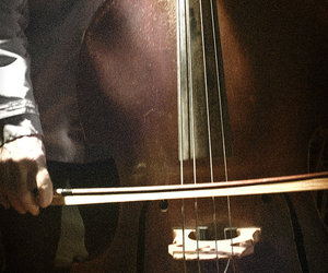 bass, music, and cello image