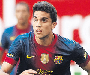 Barcelona, soccer, and marc bartra image