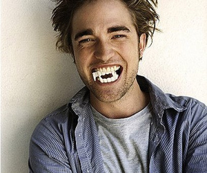 robert pattinson, vampire, and robert image