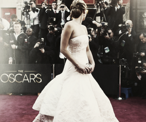 Jennifer Lawrence, beautiful, and dress image