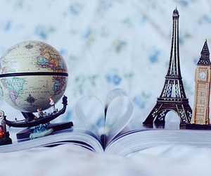 paris, world, and book image