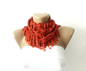 girl, love, and scarf image