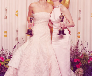 Jennifer Lawrence, Anne Hathaway, and oscar image