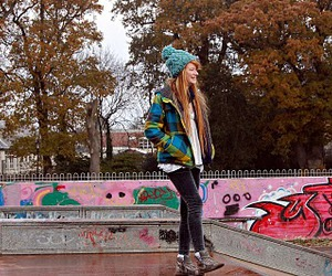 fashion, ginger, and skate image