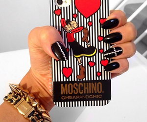 nails and Moschino image