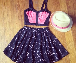 skirt, dress, and hat image