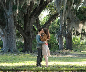 beautiful creatures, couple, and kiss image