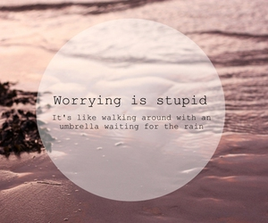 stupid, worry, and don't image