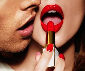 boy, kiss, and lips image