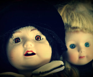 doll, dolls, and scary image