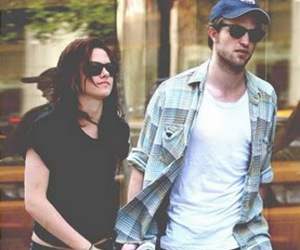 Robsten, kristen stewart, and robert pattinson image