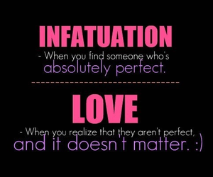 infatuation and love image