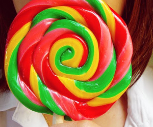 candy, colors, and girl image