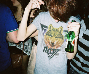 boy, party, and beer image