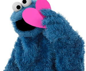 blue, pink, and cookie image