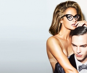 tom ford, glasses, and nicholas hoult image