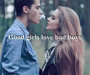 <3, bad girl, and hair image
