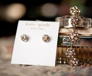 accessory, earing, and kate spade image