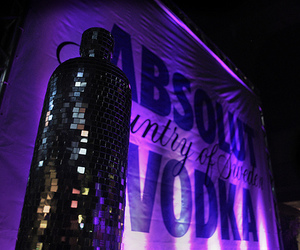 vodka, absolut, and party image