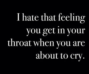 cry, feeling, and quotes image