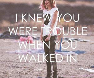 Taylor Swift, trouble, and taylor image