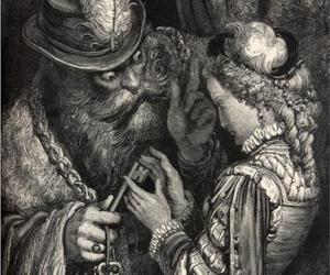 bluebeard, gustave dore, and art image