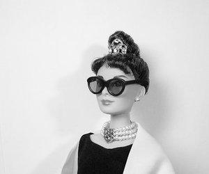 audrey hepburn, barbie, and beautiful image