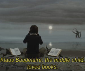 book, A Series of Unfortunate Events, and klaus baudelaire image