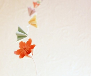 garland and origami image