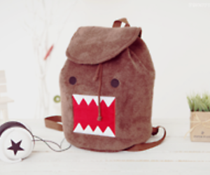 domo, cute, and bag image