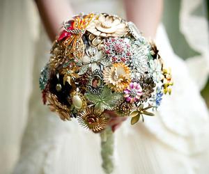 boquet, nature, and wedding image