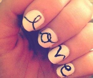 love, nails, and nail art image