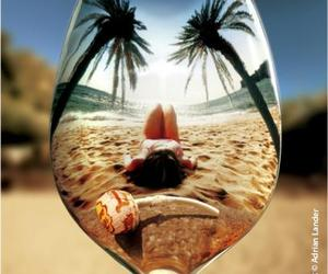 summer, beach, and spoon image