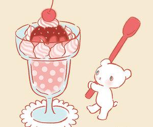bear, cute, and dessert image