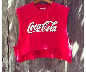 coca cola, red, and dubtrackfm image