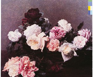 music, new order, and Peter Saville image