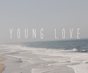 love, young, and beach image