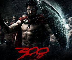 300, leonidas, and spartans image