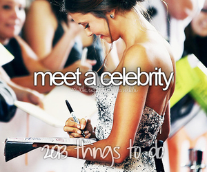 before i die, celebrities, and celebrity image